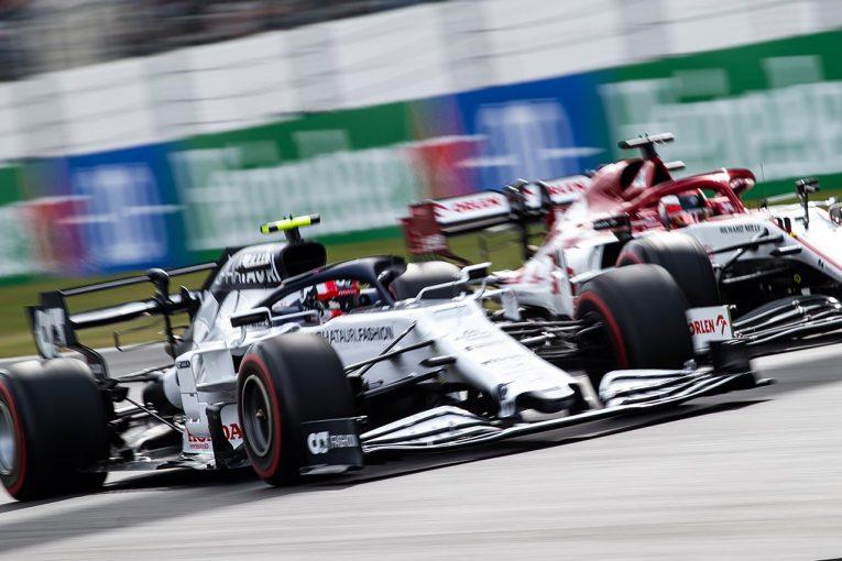 F1   【中野信治のF1分析第12戦】躍動するガスリー。リヤ重視のスタイルとフェルスタッペンとの乗り方の違い