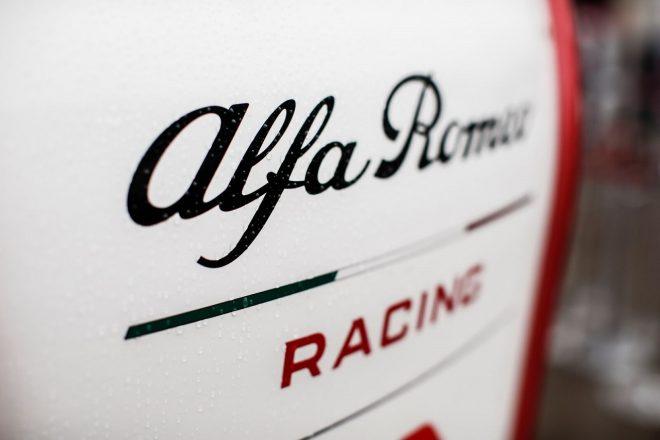 アルファロメオ・レーシングのロゴ