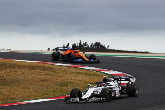 2020年F1第12戦ポルトガルGP ピエール・ガスリー(アルファタウリ・ホンダ)