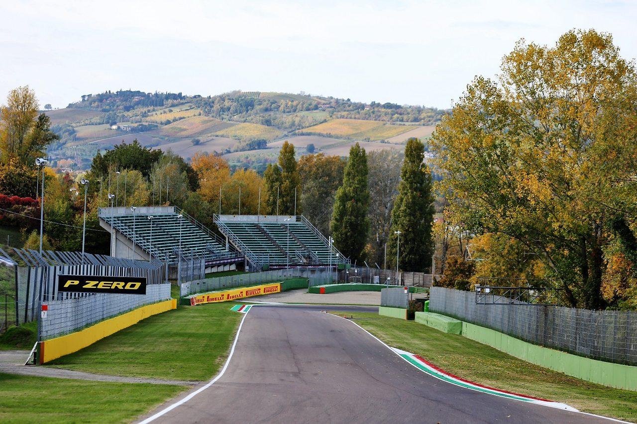 2020年F1第13戦F1エミリア・ロマーニャGPの舞台となるイモラ・サーキット