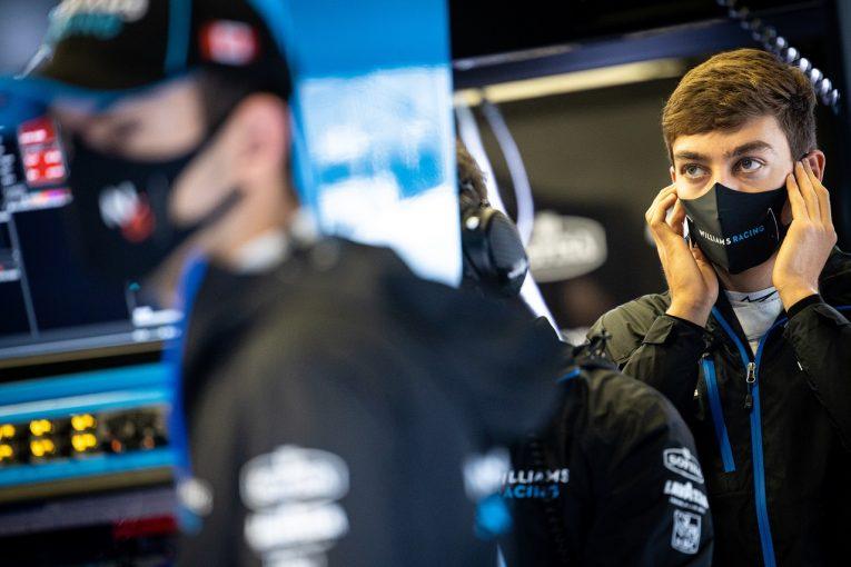F1 | F1エミリア・ロマーニャGPを前に、ラッセルのコーチが体調不良で自主隔離。いずれもコロナ検査結果は陰性