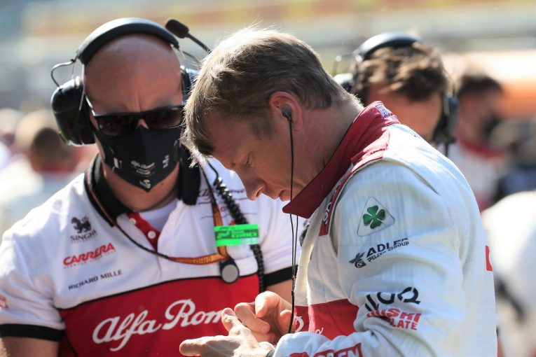 F1 | 41歳でF1残留を決めたライコネン「アルファロメオは第二の家族。彼らと一緒だからこそ、続けたいと思った」