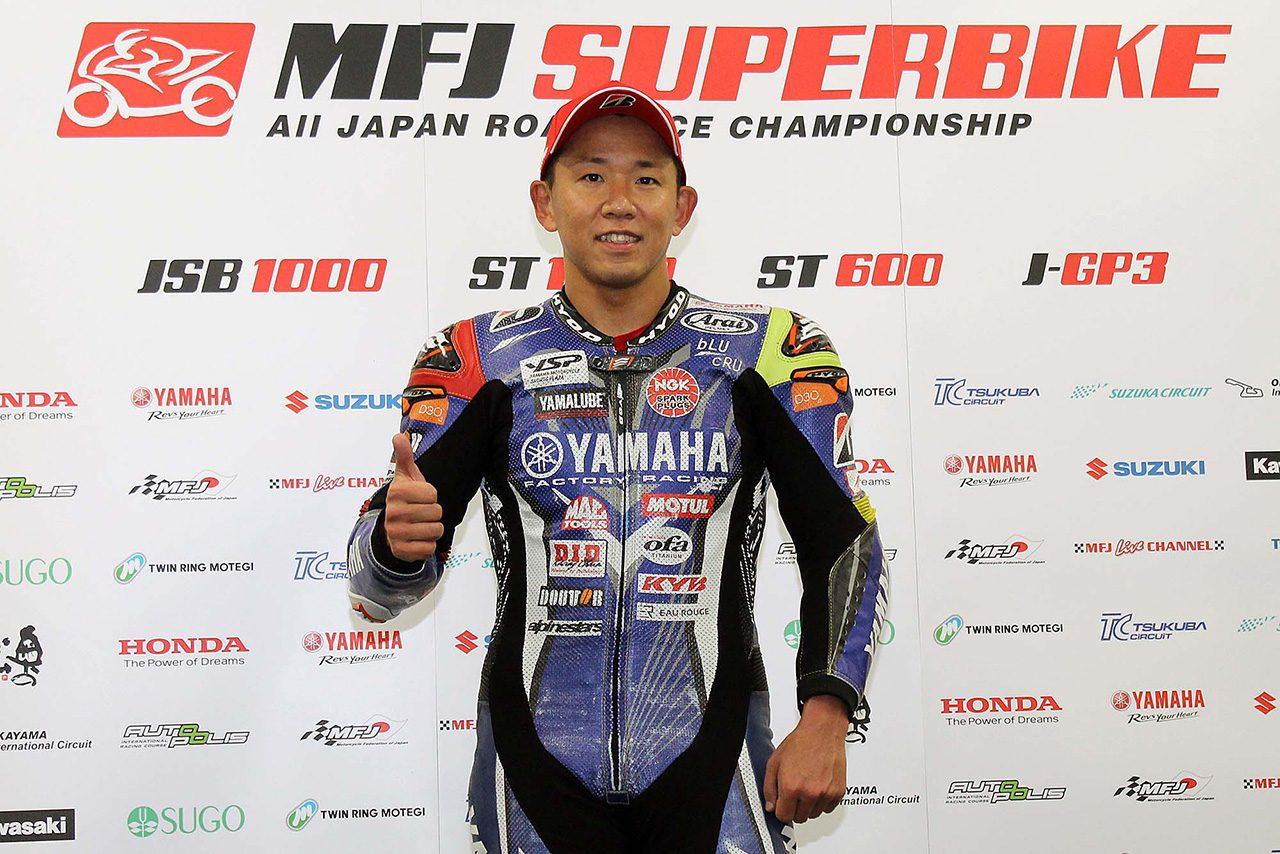中須賀克行「まだ1勝もできていないから勝ちたい気持ちが強い」/全日本ロード最終戦鈴鹿 ポール会見