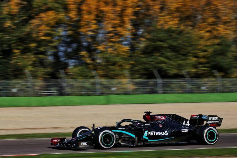 F1 | F1エミリア・ロマーニャGP FP:ハミルトンがトップ。2番手フェルスタッペンはミディアムを使用せず