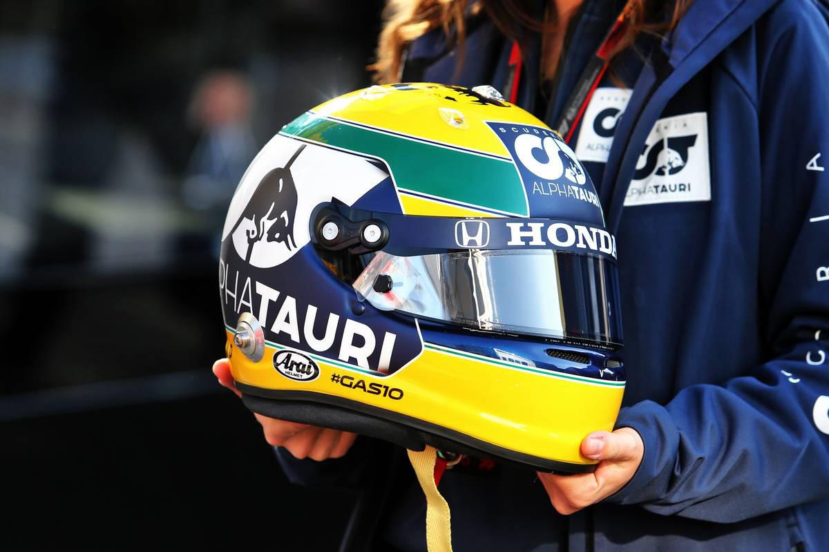 ピエール・ガスリー(アルファタウリ・ホンダ)のヘルメット