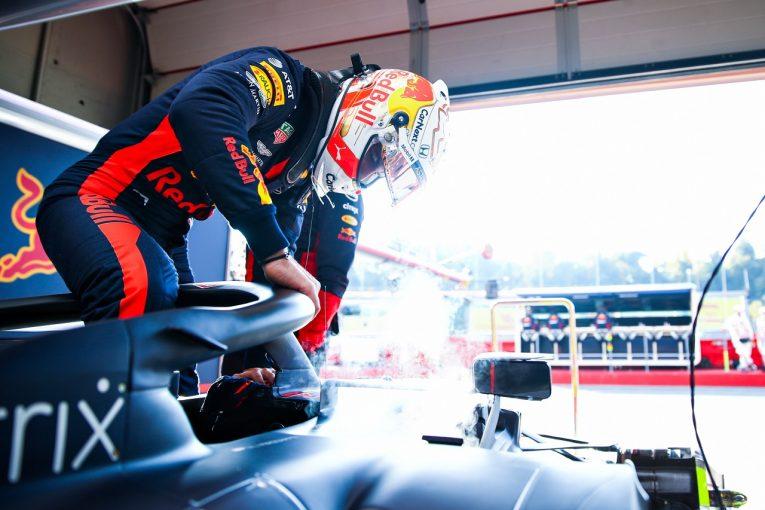 F1 | フェルスタッペン予選3番手「トラブルがなければもっとメルセデス勢に近づけたはず」レッドブル・ホンダ【F1第13戦】