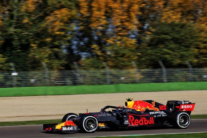 2020年F1第13戦エミリア・ロマーニャGP アレクサンダー・アルボン(レッドブル・ホンダ)