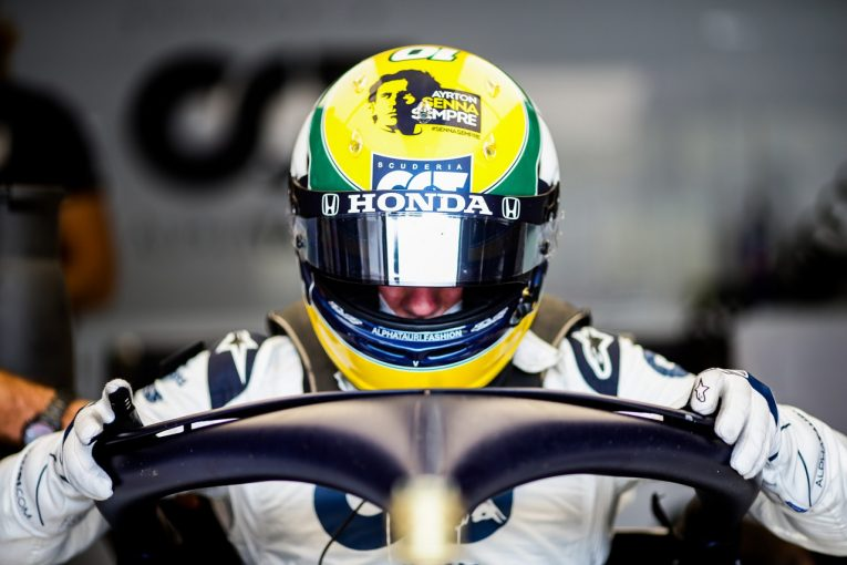 F1 | ガスリー、セナへの思いと共に自己ベスト4番手「特別な意味を持つ結果」アルファタウリ・ホンダ【F1第13戦予選】