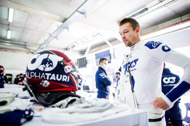 2020年F1第13戦エミリア・ロマーニャGP ダニール・クビアト(アルファタウリ・ホンダ)