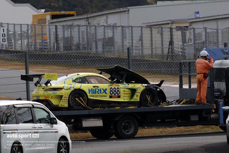 国内レース他 | スーパー耐久:HIRIX AMG GT3の高木真一は腰椎と右手首を骨折。早期復帰を目指す