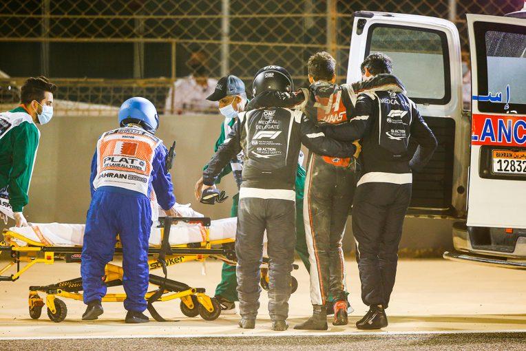 F1 | 「素晴らしい仕事をしてくれた」ハースF1代表、グロージャンを救助したマーシャルやメディカルスタッフに感謝
