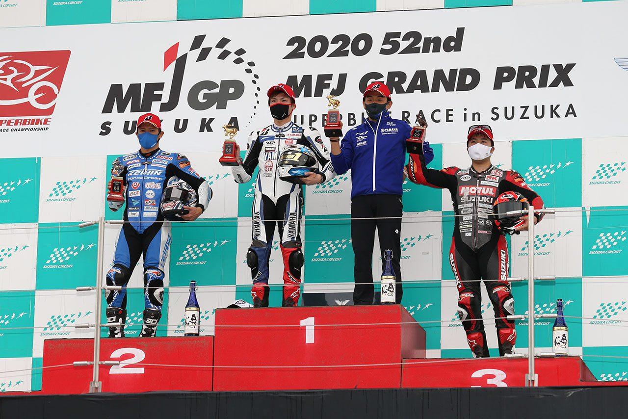 野左根航汰、ラストレースで勝利を飾り今季7勝/全日本ロード最終戦鈴鹿 JSB1000レース2