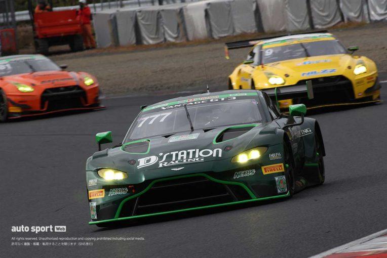 国内レース他 | スーパー耐久岡山:Gr-1決勝はD'station Vantage GT3がポール・トゥ・ウイン。1年ぶりの勝利を岡山で決める
