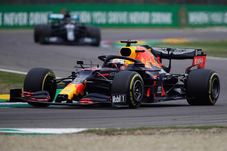 F1 | レッドブル・ホンダ分析:フェルスタッペンのアンダーカットは想定内か。戦略の優先権を得たメルセデスに及ばず