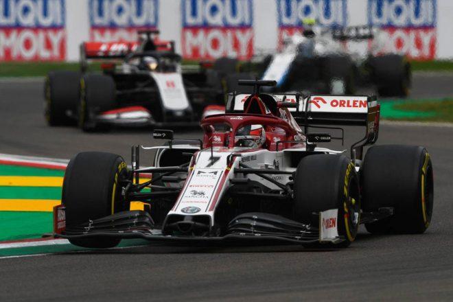 2020年F1第13戦エミリア・ロマーニャGP キミ・ライコネン(アルファロメオ)