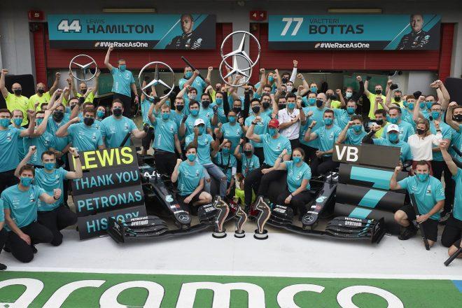 2020年F1第13戦エミリア・ロマーニャGPでメルセデスがタイトル7連覇を確定