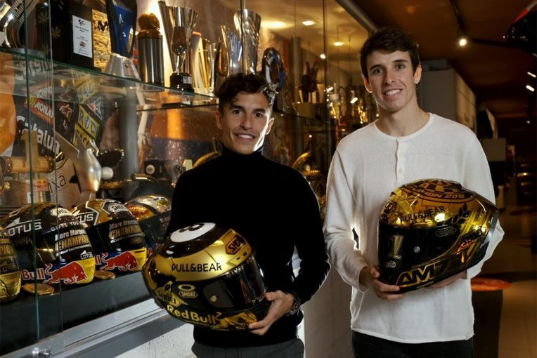 MotoGP | MotoGP:ショウエイヘルメット、マルケス兄弟と2024年まで契約更新