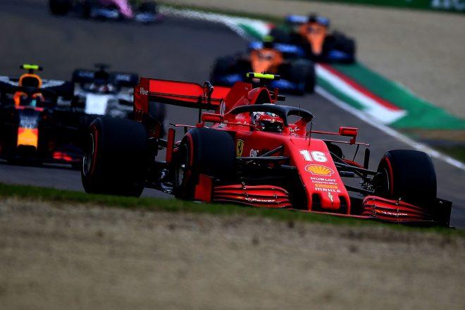 2020年F1第13戦エミリア・ロマーニャGP シャルル・ルクレール(フェラーリ)