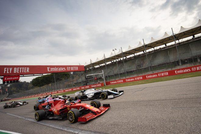 2020年F1第13戦エミリア・ロマーニャGP セバスチャン・ベッテル(フェラーリ)