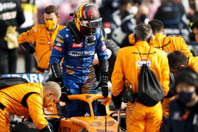 F1 | サインツ7位「目の前でアルボンがスピンしたのでヒヤッとした」マクラーレン【F1第13戦決勝】