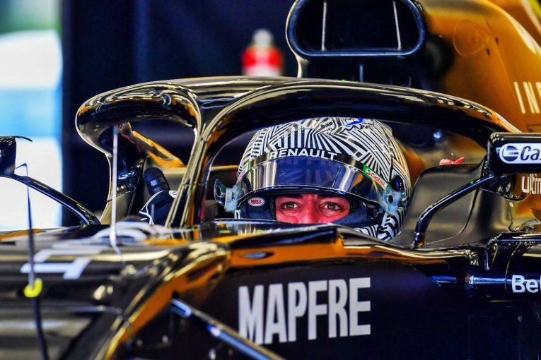 F1 | アロンソが2018年型ルノーで2日間のテスト。初日は93周を走行し、F1復帰への準備