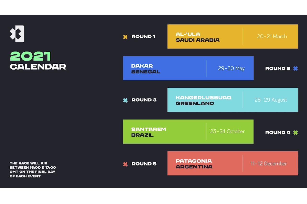 Extreme E:2021年シーズン1カレンダー発表。参戦全チームのカラーリングも披露