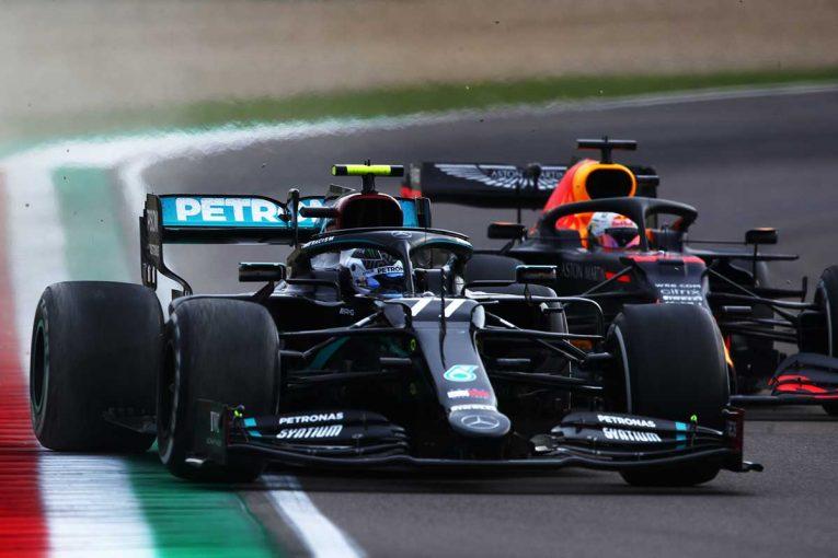 F1 | 【F1第13戦無線レビュー】フェルスタッペン、ボッタスをかわせず苛立ち「ボッタスがとても遅いよ!!」
