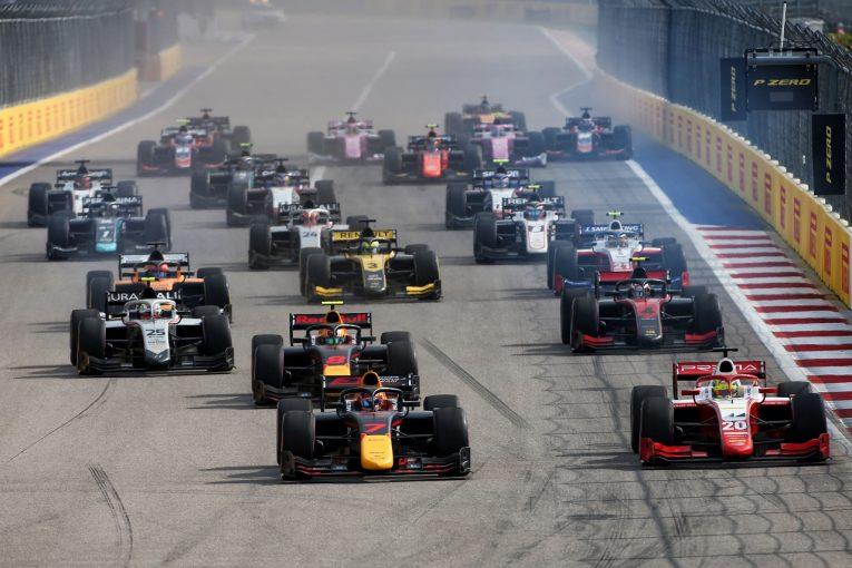 F1 | F1サポートレースのF2およびF3、2021年は週末3レース開催でラウンド数縮小。大規模なコスト削減策の一環