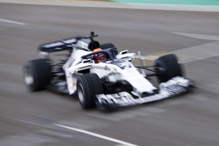F1 | カウンターを当てるほど「攻めた」初F1テスト。それでも見据えるのはF2の最終2連戦【角田裕毅独占インタビュー】