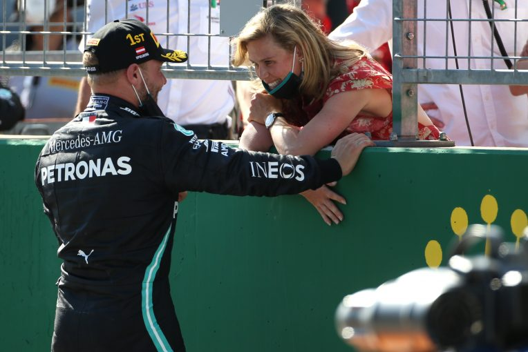 F1 | メルセデスF1のボッタス、ガールフレンドのアドバイスのおかげでポジティブ思考を維持