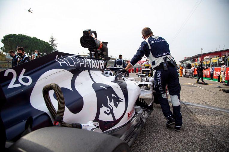 F1   アルファタウリF1代表「4位は運でつかんだわけではない」戦略グループとクビアトを称賛