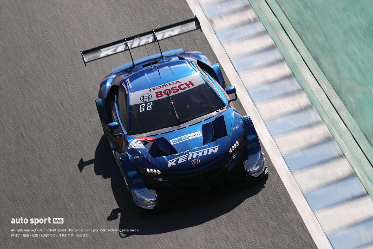 2020年スーパーGT第7戦もてぎ KEIHIN NSX-GT(塚越広大/ベルトラン・バゲット)