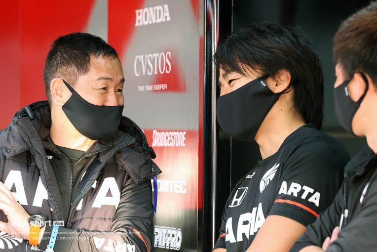 """スーパーGT   ARTA NSX GT3を急遽引っ張る""""テンパらない""""大湯と、松下の""""1年生らしからぬ無線"""""""