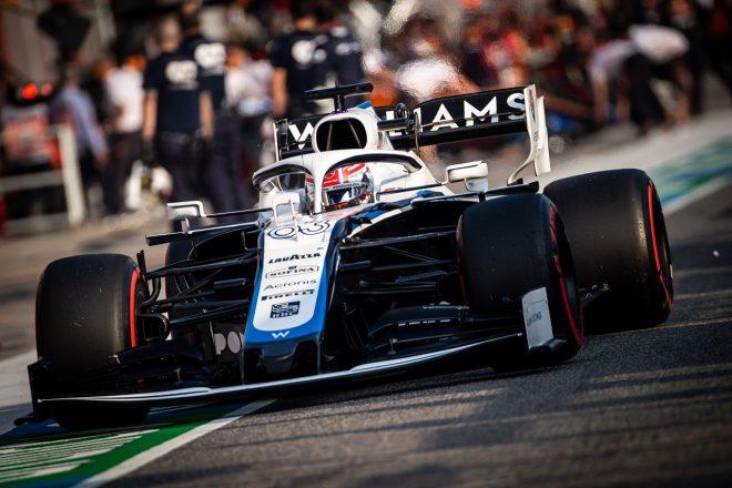 2020年F1第13戦エミリア・ロマーニャGP ジョージ・ラッセル(ウイリアムズ)