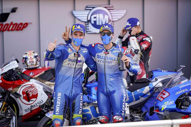 MotoGP | 最高峰クラス初優勝のミル「金曜は難しい状況だったが土曜に変わった」/MotoGP第13戦決勝トップ3コメント