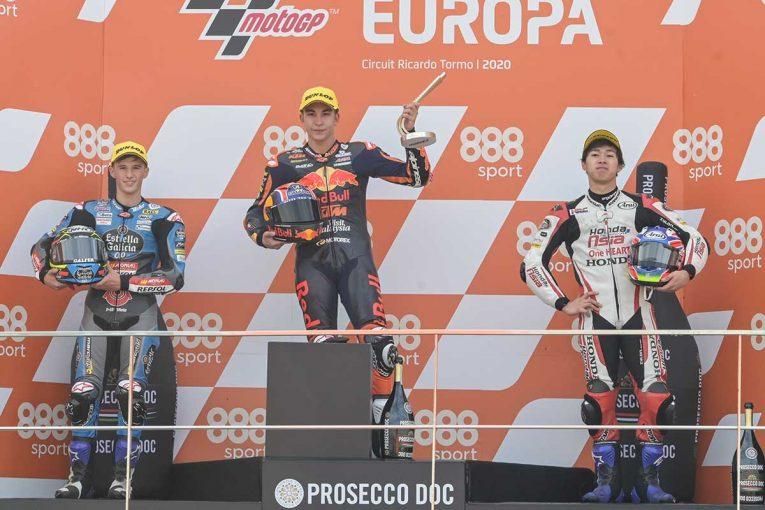 MotoGP | 小椋藍が3位表彰台【順位結果】2020MotoGP第13戦ヨーロッパGP Moto3決勝