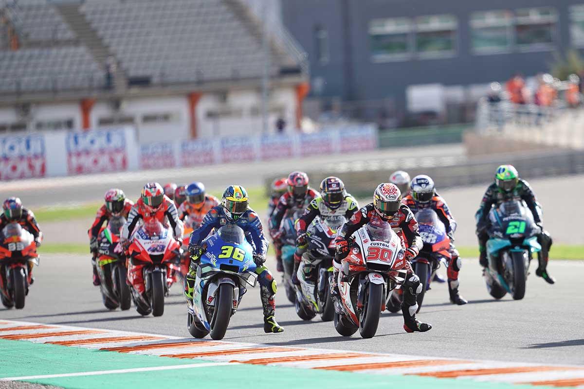 2020年MotoGP第13戦ヨーロッパGP MotoGP決勝