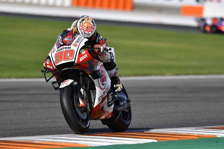 MotoGP | 中上貴晶がトップタイム【タイム結果】2020MotoGP第14戦バレンシアGP フリー走行1回目