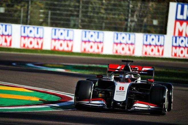 2020年F1第13戦エミリア・ロマーニャGP ロマン・グロージャン(ハース)