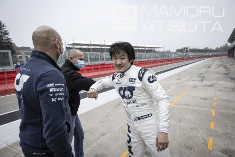 Blog | 【ブログ】Shots!角田裕毅のF1初テストに密着。緊張を感じさせず、ドライバーとしての可能性をみせた1日