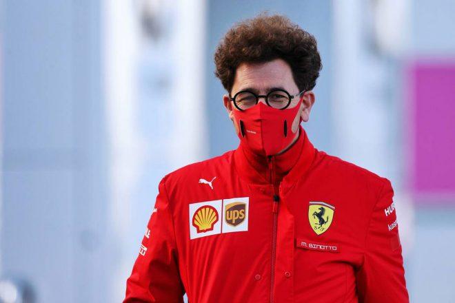 2020年F1第11戦アイフェルGP マッティア・ビノット代表(フェラーリ)