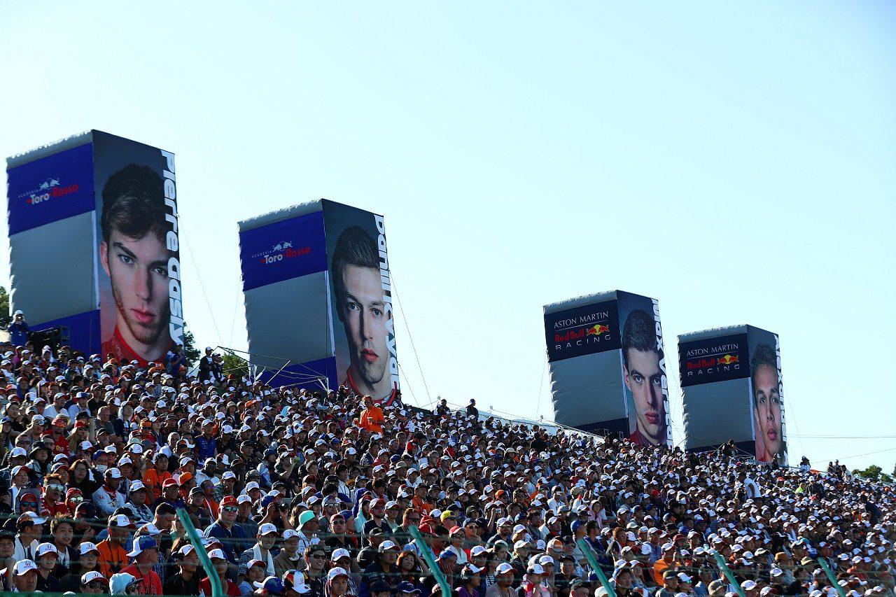 2019年F1日本GP ホンダを応援する多数の観客