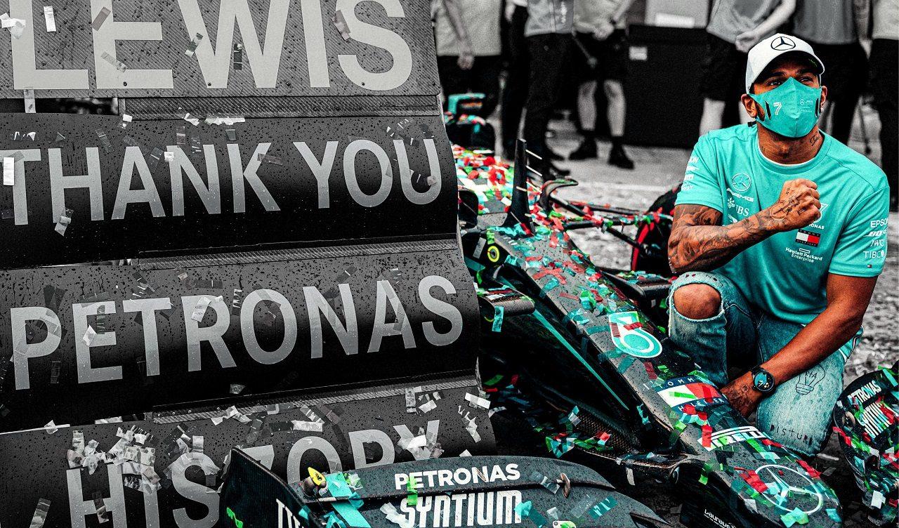 2020年F1エミリア・ロマーニャGPで優勝、メルセデスのタイトル7連覇に貢献したルイス・ハミルトン