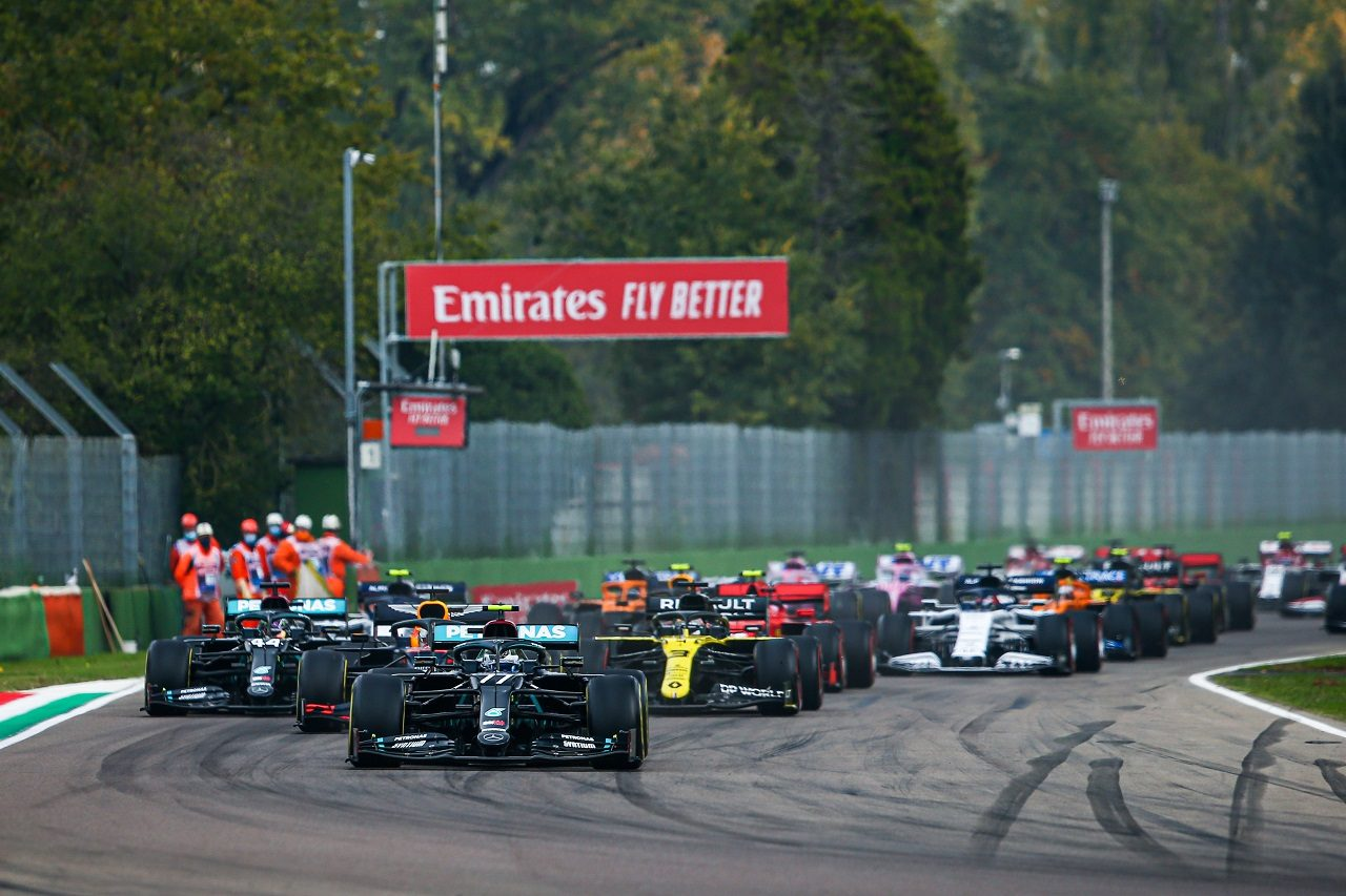 2020年F1第13戦エミリア・ロマーニャGPスタート