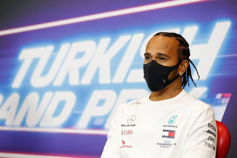 F1   F1トルコGP木曜会見:7度目の戴冠がかかるハミルトン。メルセデス移籍を勧めたラウダとの密談を語る