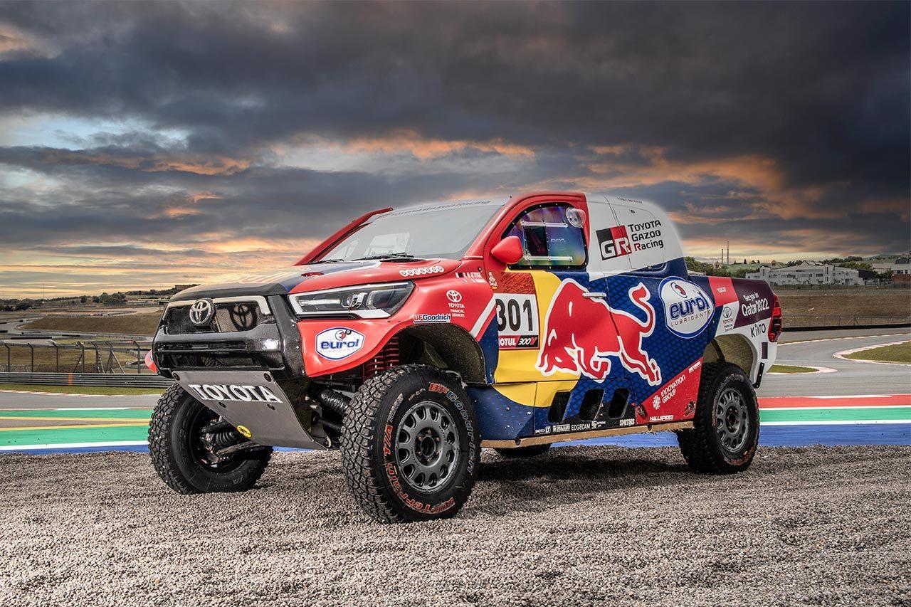 TOYOTA GAZOO Racing、2021年のダカールラリーに4台のハイラックスで参戦