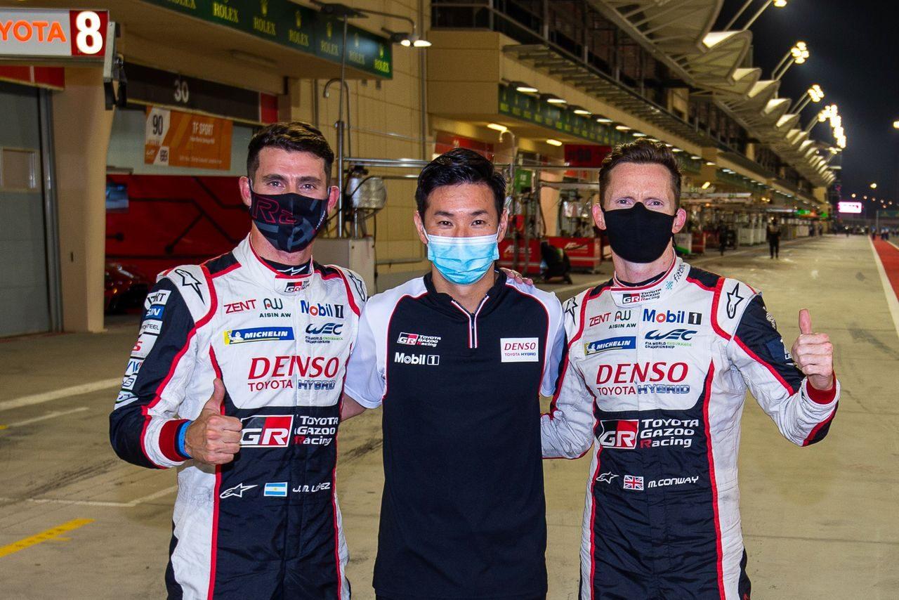 WECバーレーン:逆転王者狙う小林可夢偉組トヨタ7号車が最終戦のポールポジション獲得