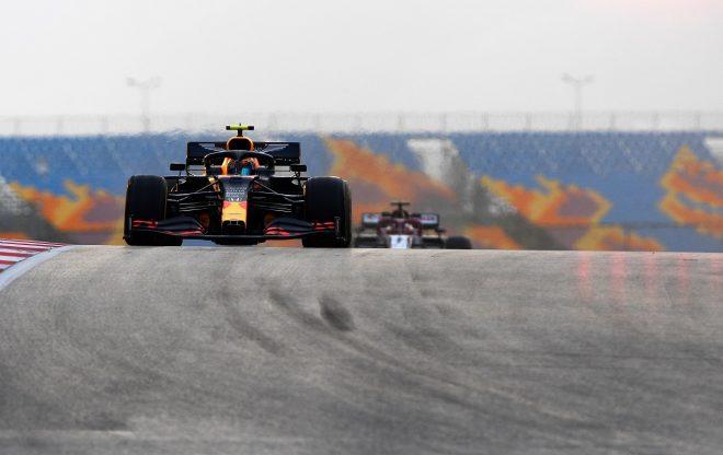 2020年F1第14戦トルコGP アレクサンダー・アルボン(レッドブル・ホンダ)