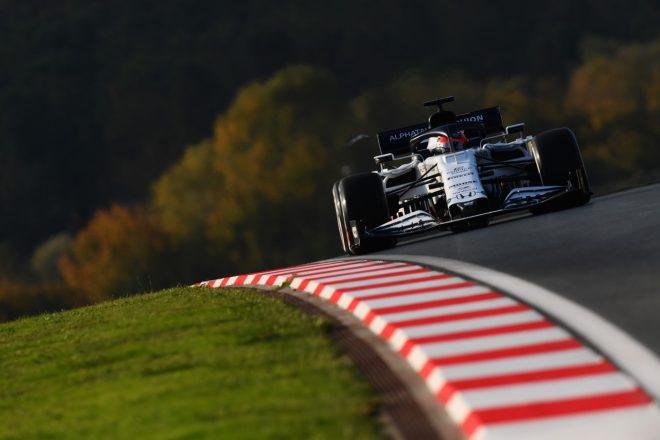 2020年F1第14戦トルコGP ダニール・クビアト(アルファタウリ・ホンダ)