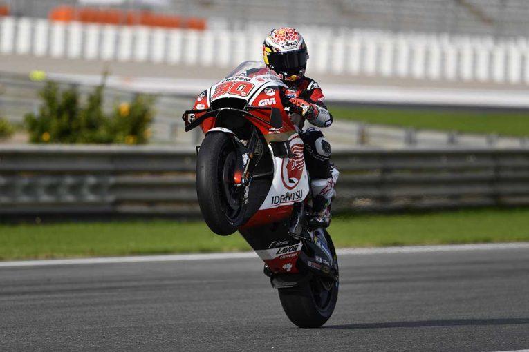 MotoGP | 中上貴晶「フロントロウ獲得が目標。きっと達成できる」/MotoGP第14戦バレンシアGP初日